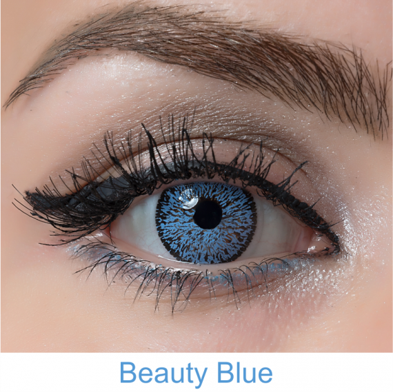 arcobaleno beauty blue lens