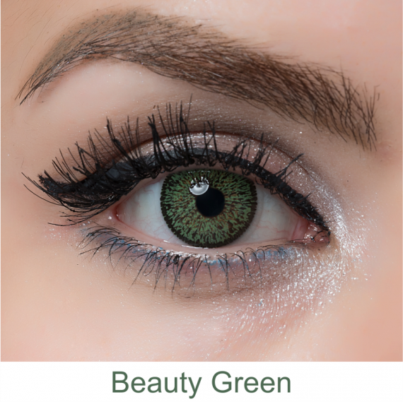 arcobaleno beauty green lens