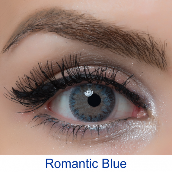arcobaleno romantic blue lens