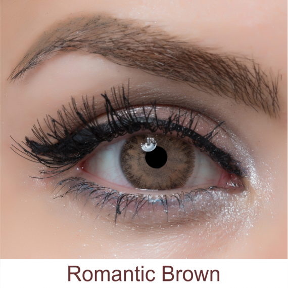 arcobaleno romantic brown lens