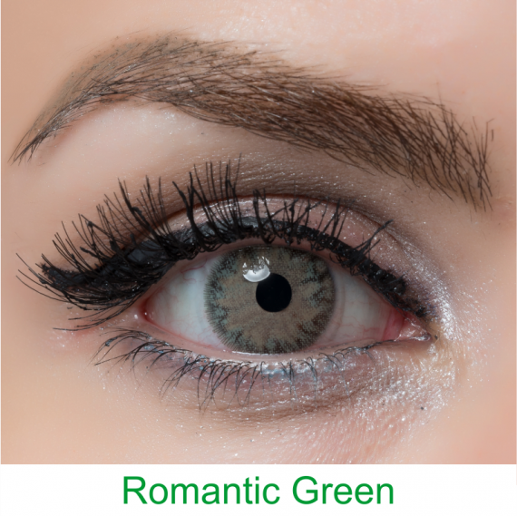 arcobaleno romantic green lens