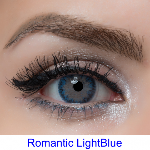 arcobaleno romantic lightblue lens