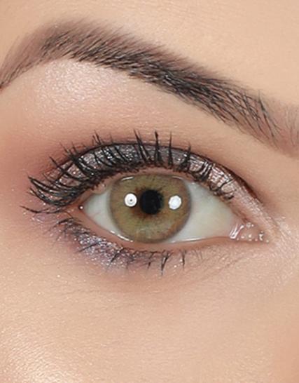 hypnose amber renkli lens göz