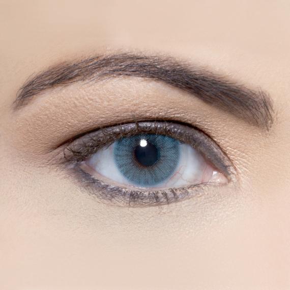 Hypnose Azul Renkli Kozmetik Lens Göz