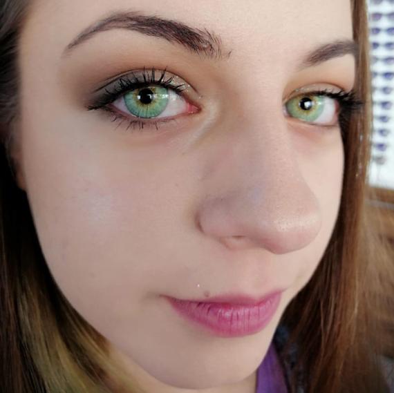hypnose jasmine renkli kozmetik lens müşteri 2