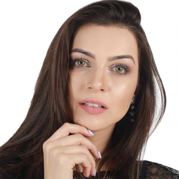 Hypnose Katre Renkli Kozmetik Lens 1. Manken