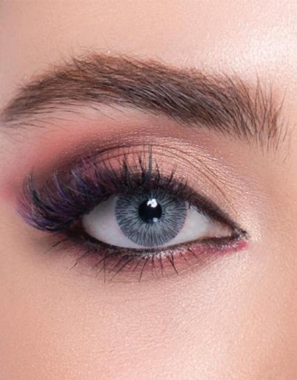 Labella Exculisive Channel Gray Numarasız Renkli Lens Göz
