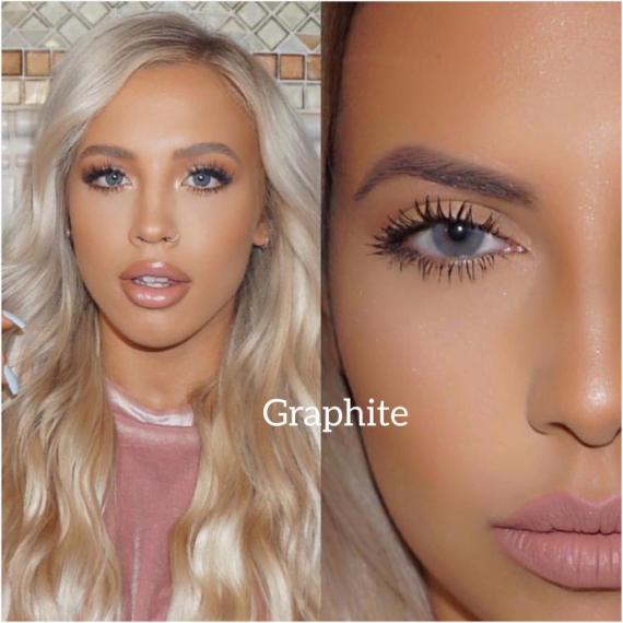 Hypnose grafite renkli kozmetik lens 2. müşteri