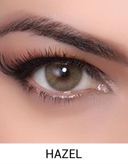 Hypnose hazel renkli kozmetik lens