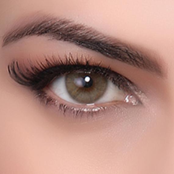 Hypnose hazel renkli kozmetik lens göz