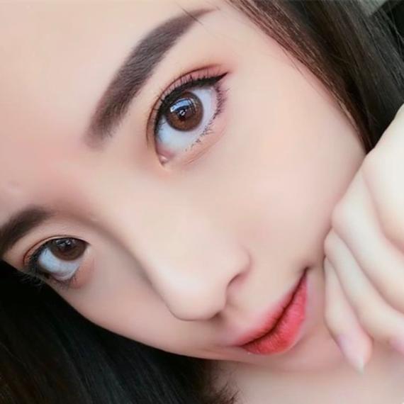 Hypnose hazel renkli kozmetik lens 1. Müşteri