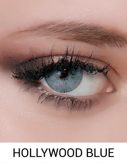 Hypnose hollywood blue renkli kozmetik lens