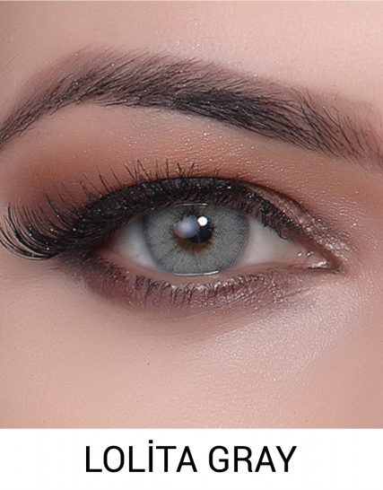Hypnose Lolita Gray Lens 1 Yıllık