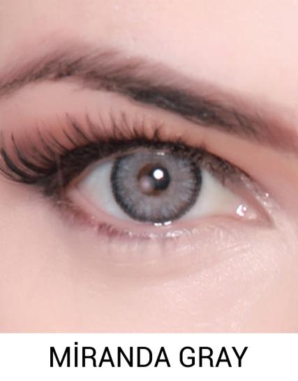 Hypnose Miranda Gray Renkli Kozmetik Lens