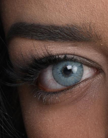 hypnose hollywood gray yeni versiyon renkli kozmetik lens göz