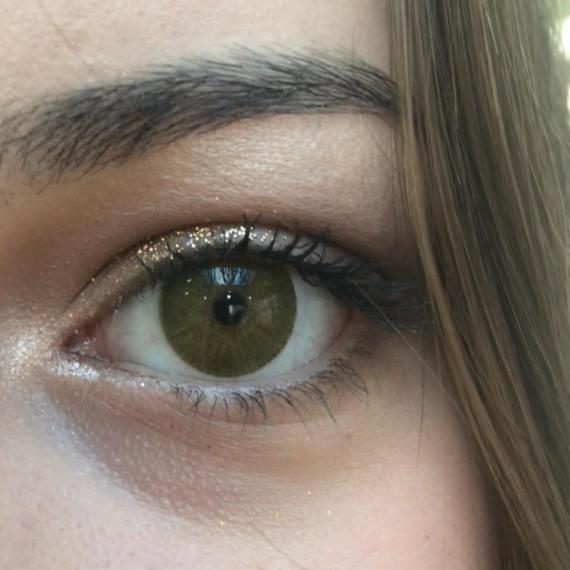 hypnose hollywood olive green yeni versiyon renkli kozmetik lens 1. müşteri