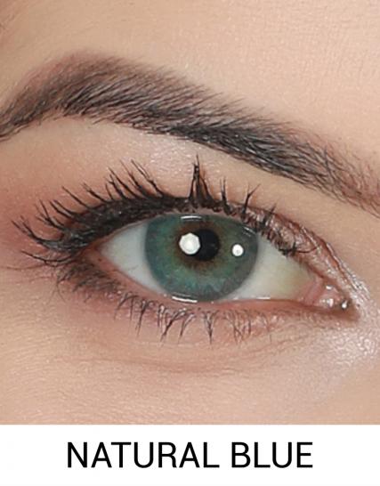 hypnose natural blue yıllık lens