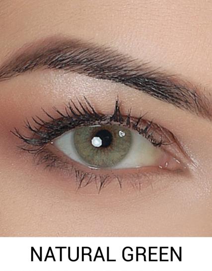 hypnose natural green yıllık renkli lens