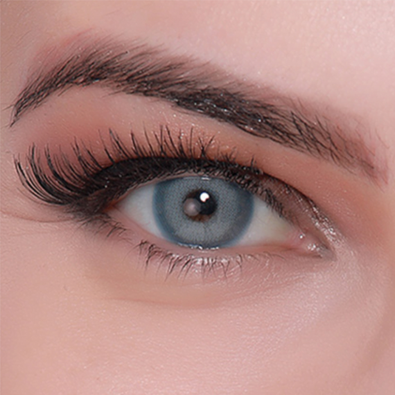 hypnose star blue yıllık lens göz