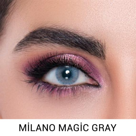 Labella milano magic gray haresiz lens 3 aylık