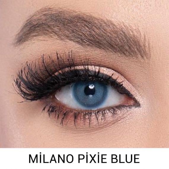 labella milano pixie blue haresiz lens