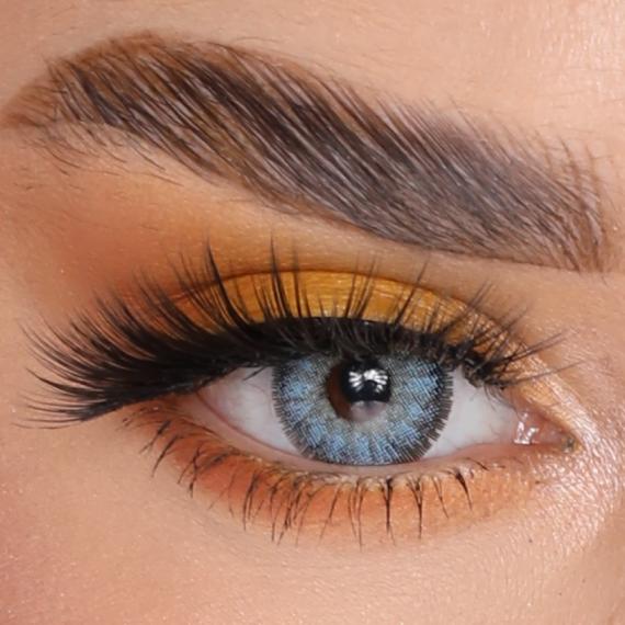 FX Eyes Pearl Blue Hareli Lens 1 Yıllık