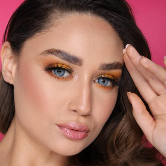 FX Eyes Pearl Blue Hareli Lens