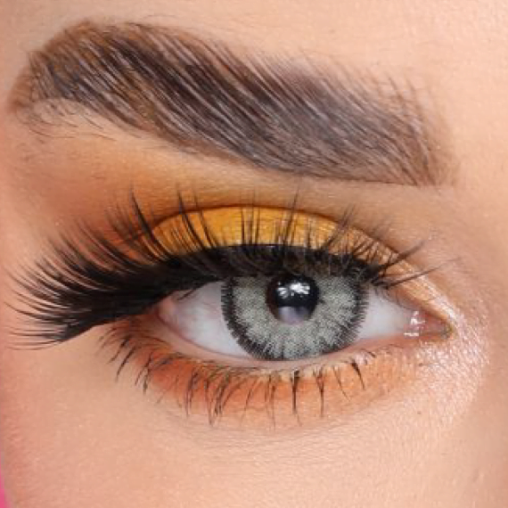 FX Eyes Pearl Gray Hareli Lens 1 Yıllık