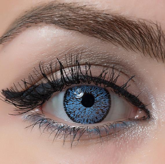 Arcobaleno Beauty Blue Hareli Lens