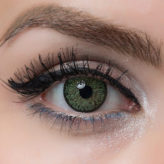 Arcobaleno Beauty Green Hareli Lens