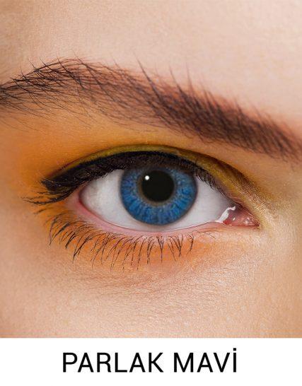 Freshlook parlak mavi lens