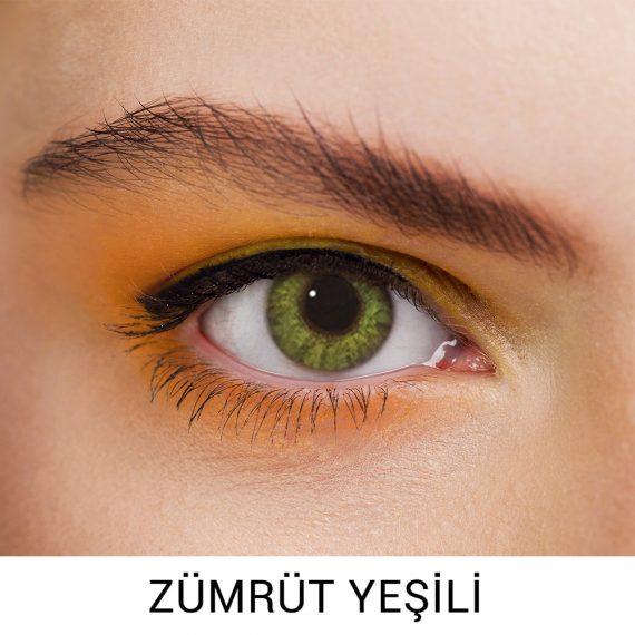 Freshlook Zümrüt Yeşili Lens