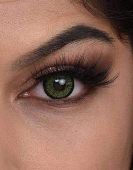 FX Eyes Hawai Green Hareli Lens 1 Yıllık
