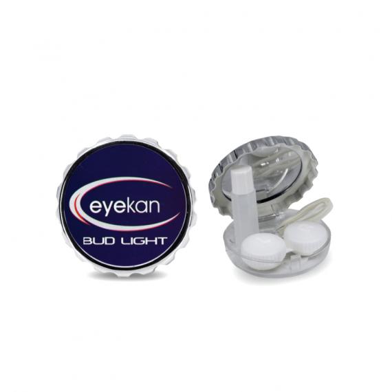 açacak şeklinde mavi lens kabı