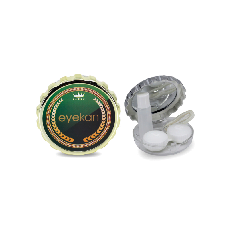 açacak şeklinde yeşil lens kabı
