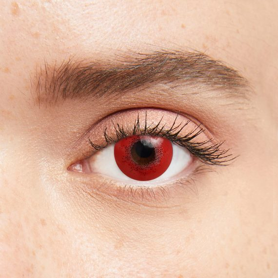 Iconic Kırmızı Parti Lensi 3 Aylık