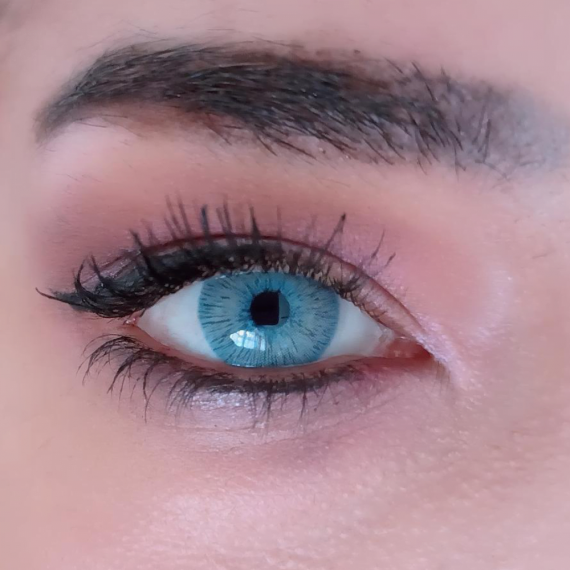 Hypnose Hollywood Baby Blue Lens